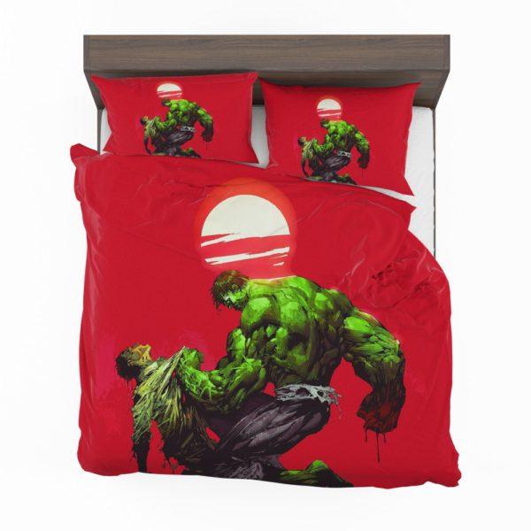 Hulk vs Bruce Banner Marvel Comics Bedding Set 2