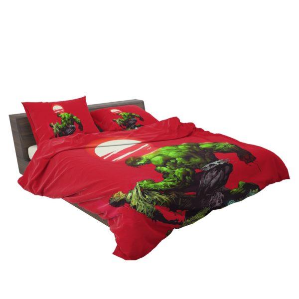 Hulk vs Bruce Banner Marvel Comics Bedding Set 3
