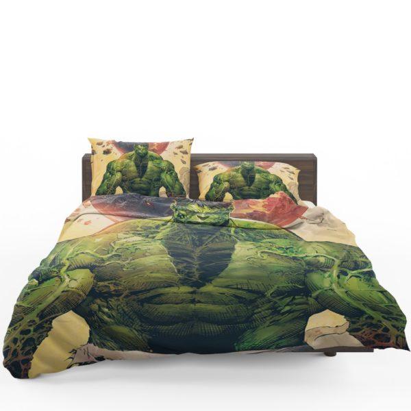 Incredible Hulk Sketch Bedding Set 1