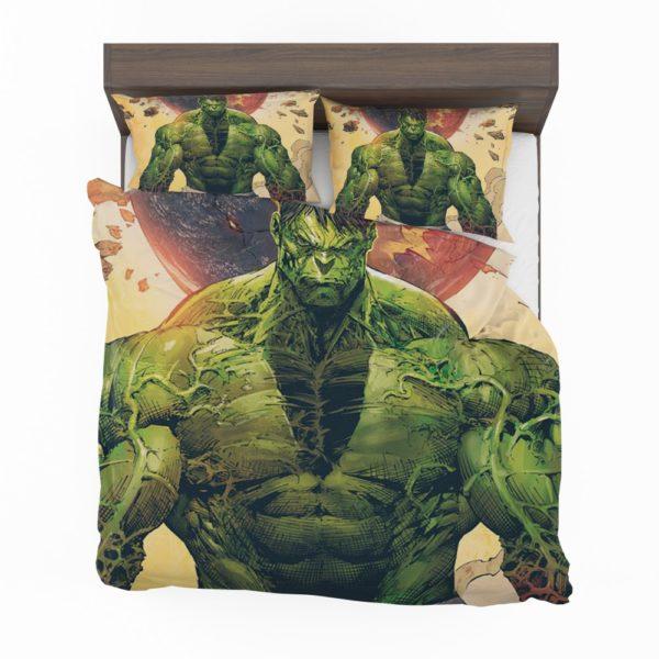 Incredible Hulk Sketch Bedding Set 2