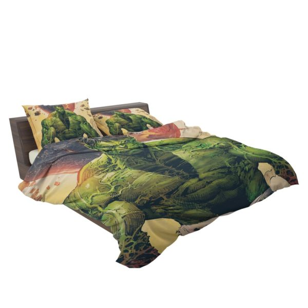 Incredible Hulk Sketch Bedding Set 3