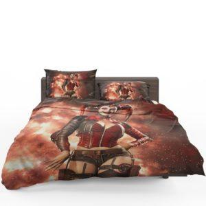 Injustice 2 Game DC Comics Harley Quinn Bedding Set 1