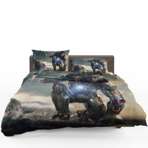 Iron Man 3 Movie Tony Stark Bedding Set 1