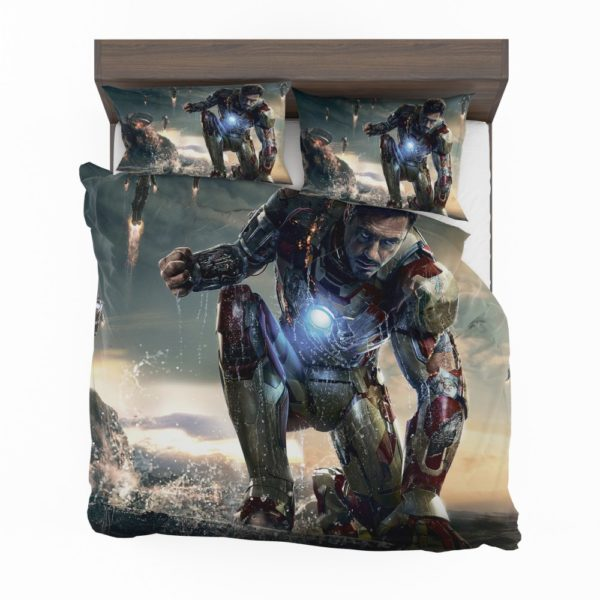 Iron Man 3 Movie Tony Stark Bedding Set 2