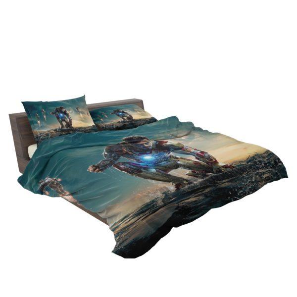 Iron Man 3 MovieTony Stark Robert Downey Jr. Bedding Set 3