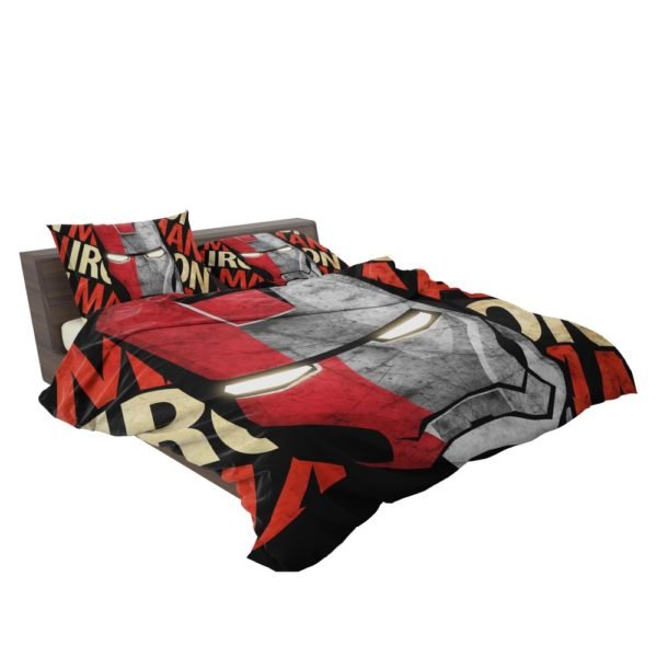Iron Man Armor Model 9 Helmet Bedding Set 3