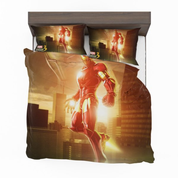 Iron Man Marvel vs. Capcom 3 Fate of Two Worlds Game Bedding Set 2