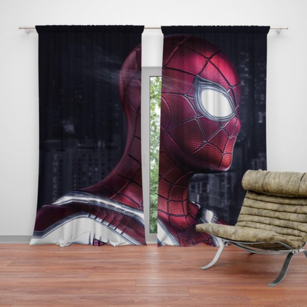 Iron Spider Peter Parker New Avenger Curtain