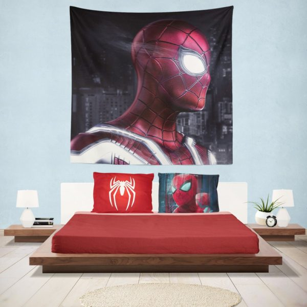 Iron Spider Peter Parker New Avenger Hanging Wall Tapestry