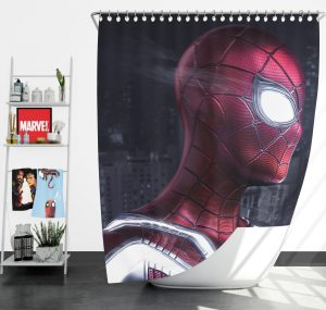 Iron Spider Peter Parker New Avenger Shower Curtain
