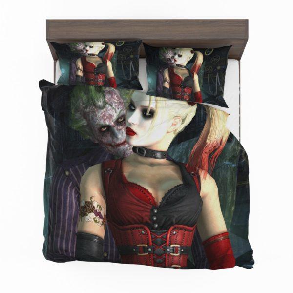 Joker And Harley Quinn Bedding Set 2