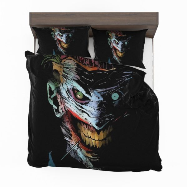 Joker DC Comics Dark Creepy Artistic Bedding Set 2