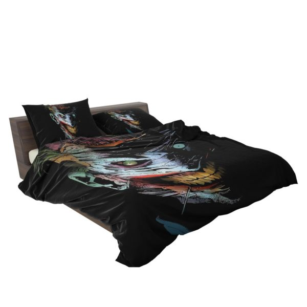 Joker DC Comics Dark Creepy Artistic Bedding Set 3