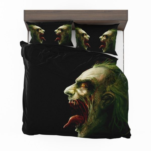 Joker Laughs Warner Brothers Accordion Bubble Sunshade Bedding Set 2