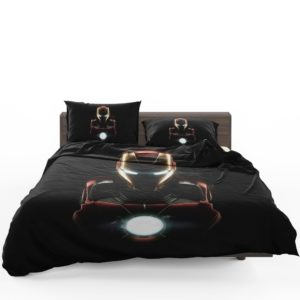 Marvel Avenger Iron Man Dark Theme Bedding Set 1