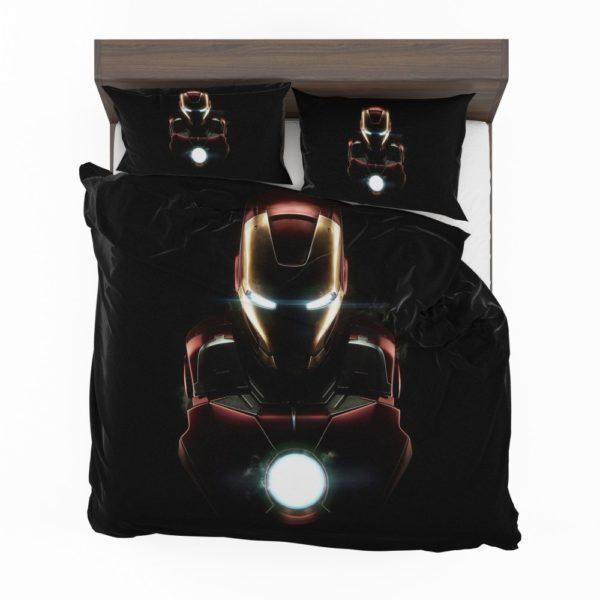 Marvel Avenger Iron Man Dark Theme Bedding Set 2