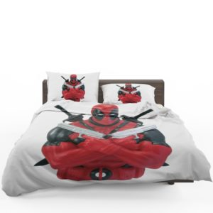 Marvel Bust Bank Deadpool Action Figures Bedding Set 1