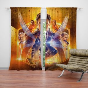 Ant-Man and the Wasp Marvel Movie Themed Curtain