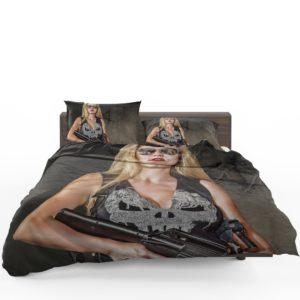 Marvel Comics Punisher Women Cosplay Bedding Set 1