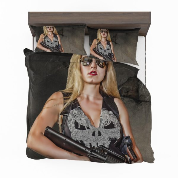 Marvel Comics Punisher Women Cosplay Bedding Set 2