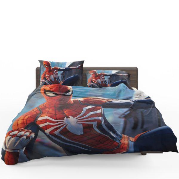 Marvel Comics Spider-Man The Avengers Shield Bedding Set 1
