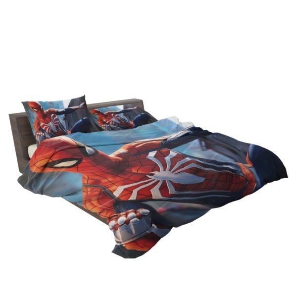 Marvel Comics Spider-Man The Avengers Shield Bedding Set 3