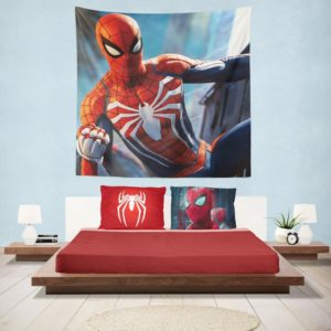 Marvel Comics Spider-Man The Avengers Shield Hanging Wall Tapestry