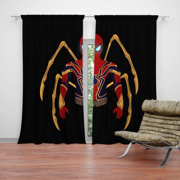 Marvel Iron Spider Armor Curtain