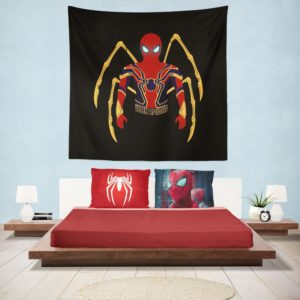 Marvel Iron Spider Armor Hanging Wall Tapestry