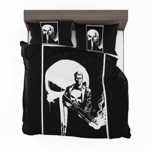 Marvel Legacy Punisher Comics War Machine Bedding Set 2