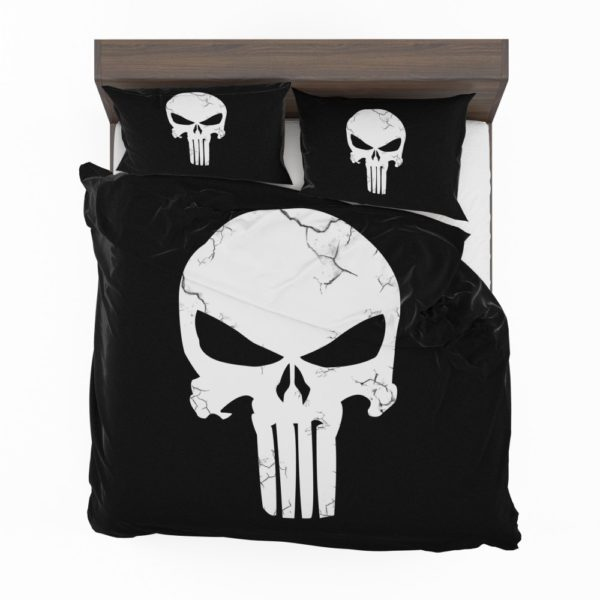 Marvel Punisher Logo Original Sin Bedding Set 2