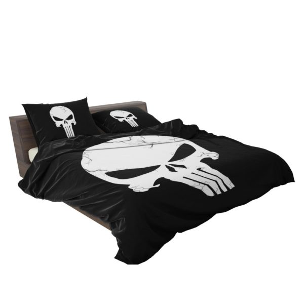 Marvel Punisher Logo Original Sin Bedding Set 3