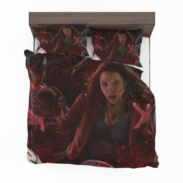 Marvel Scarlet Witch Avengers Age of Ultron Movie Comforter Set 2