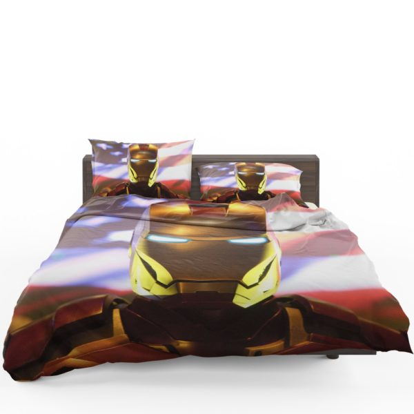 Marvel Universe Iron Man American Superhero Bedding Set 1