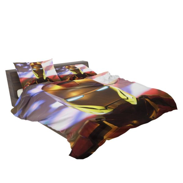 Marvel Universe Iron Man American Superhero Bedding Set 3