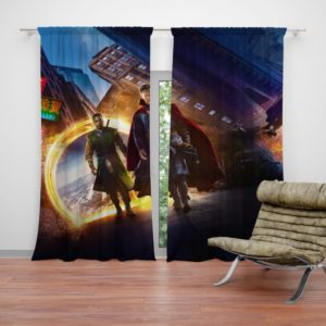 Marvel's Doctor Strange and Baron Mordo Curtain