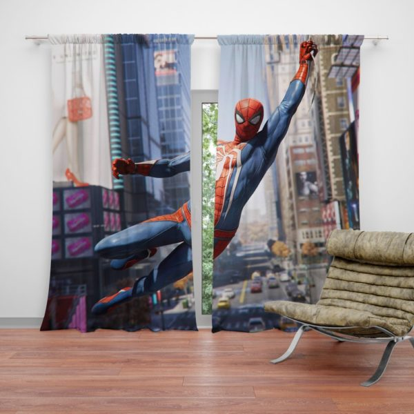 Marvel's Spider-Man PS4 Video Game Curtain
