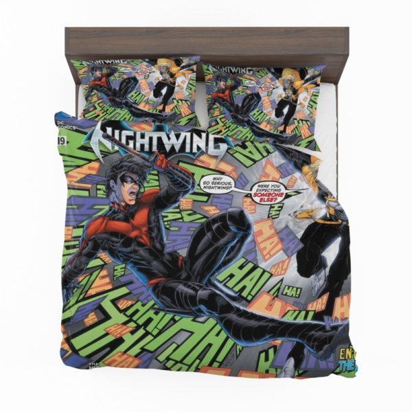 Nightwing Dick Grayson Tales of the Teen Titans Bedding Set 2