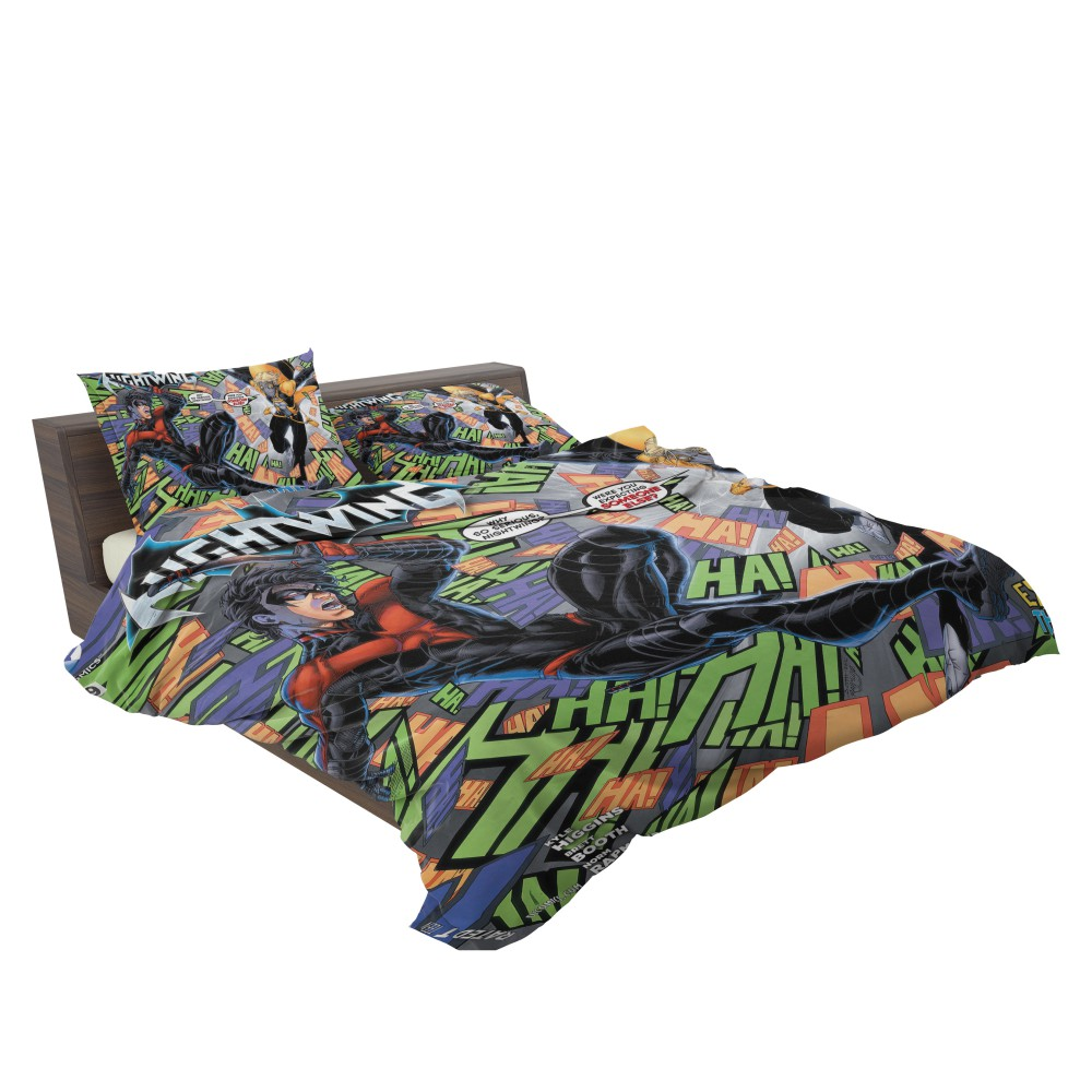 Nightwing Dick Grayson Tales of the Teen Titans Bedding Set