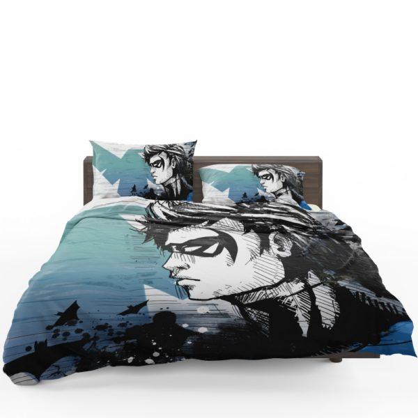 Nightwing Rebirth DC Universe Bedding Set 1