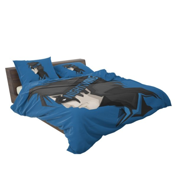 Nightwing The New Order Richard Grayson Bedding Set 3