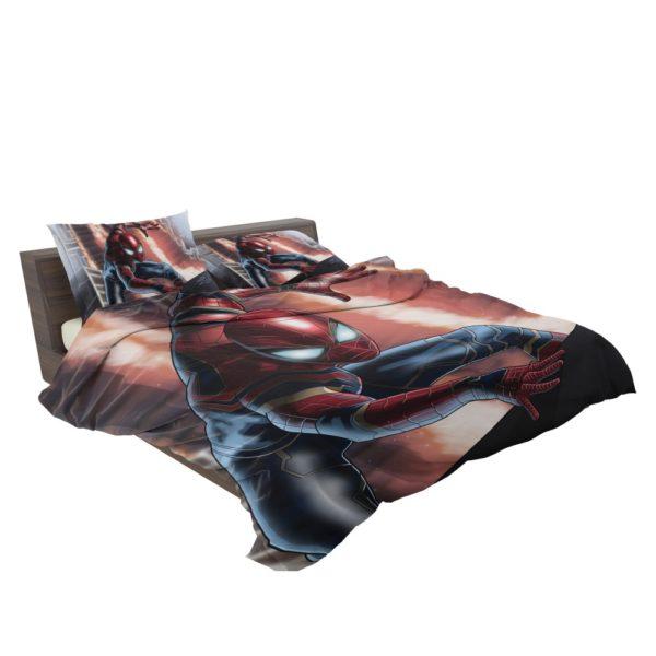 Peter Parker Iron Spider Infinity War Comforter Set 3