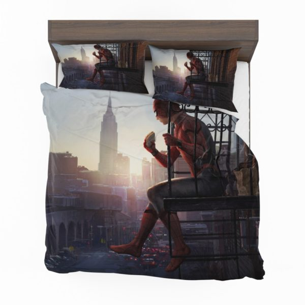 Peter Parker Spider-Man Homecoming Marvel Movie Bedding Set 2