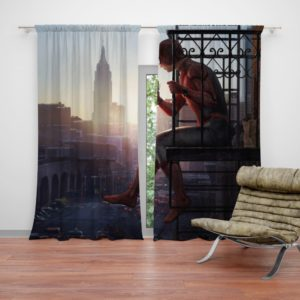 Peter Parker Spider-Man Homecoming Marvel Movie Curtain