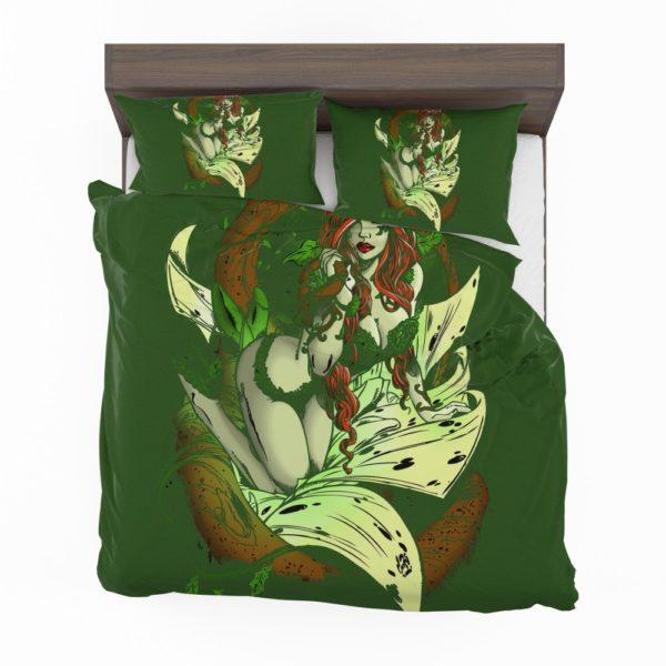 Poison Ivy Gotham City Botanist Bedding Set 2