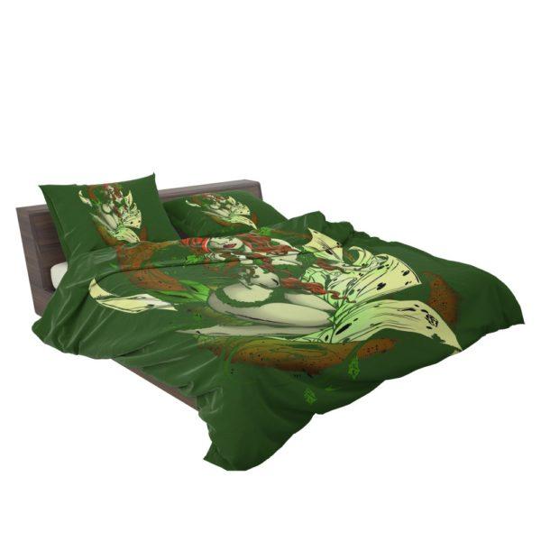Poison Ivy Gotham City Botanist Bedding Set 3