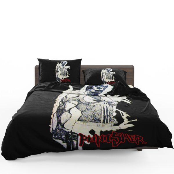 Punisher In the Blood Marvel Comics Bedding Set 1