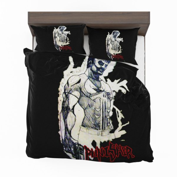 Punisher In the Blood Marvel Comics Bedding Set 2