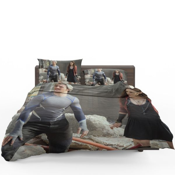 Quicksilver and Scarlet Witch Avengers Age of Ultron Bedding Set 1
