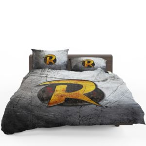 Robin DC Detective Comics Logo Bedding Set 1